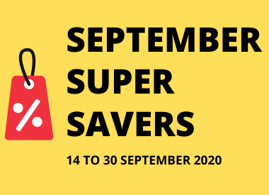September Super Savers