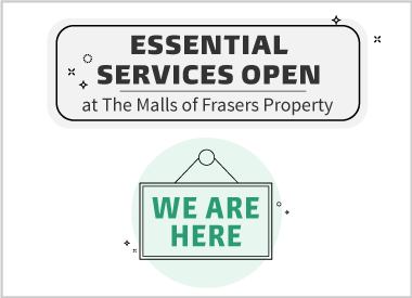 Essential Services Open At Causeway Point