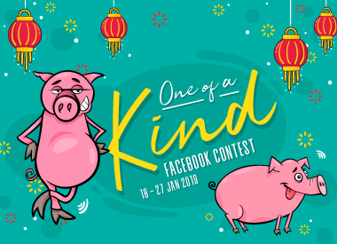 One of a Kind Facebook Contest