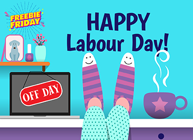 Freebie Friday Contest - Happy Labour Day!