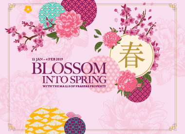 Blossom into Spring with the Malls of Frasers Property