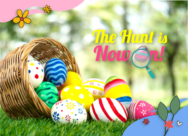Easter Egg Hunt Facebook Contest
