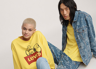 The Whole Peanuts® Gang Joins Levi's® For Spring/Summer 2019