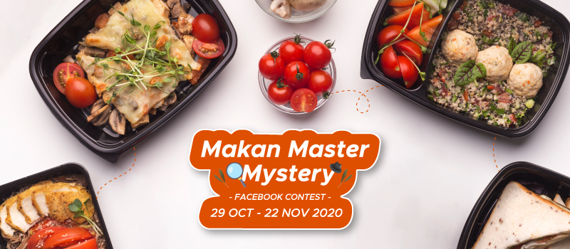 Makan Master Mystery Facebook Contest