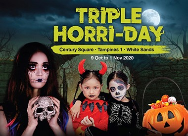 Celebrate Halloween with us this Triple Horri-day!