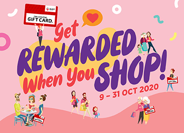 Get Rewarded When You Shop!