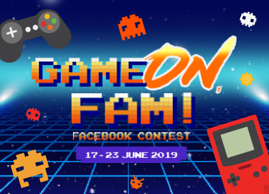 Game On, Fam! Facebook Contest