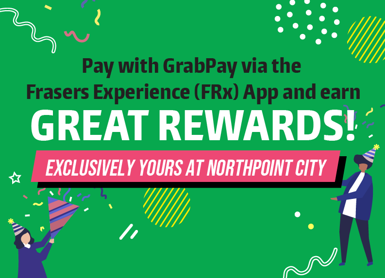 Cashless Made Rewarding with FRx X GrabPay