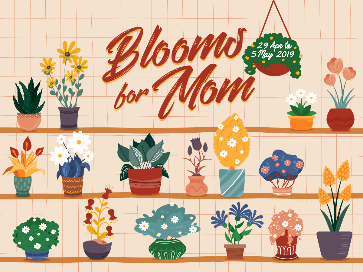 Blooms for Mom Facebook Contest