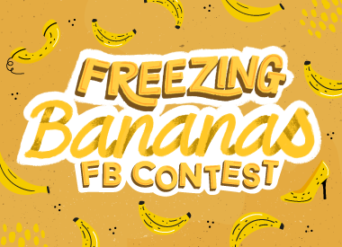Freezing Banana Facebook Contest